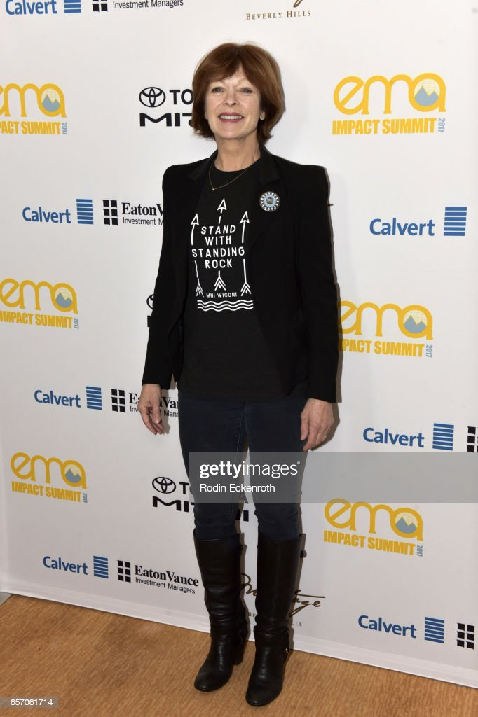 Actress and activist Frances Fisher attends the EMA Impact Summit at Montage Beverly Hills on March 23, 2017 in Beverly Hills, California.