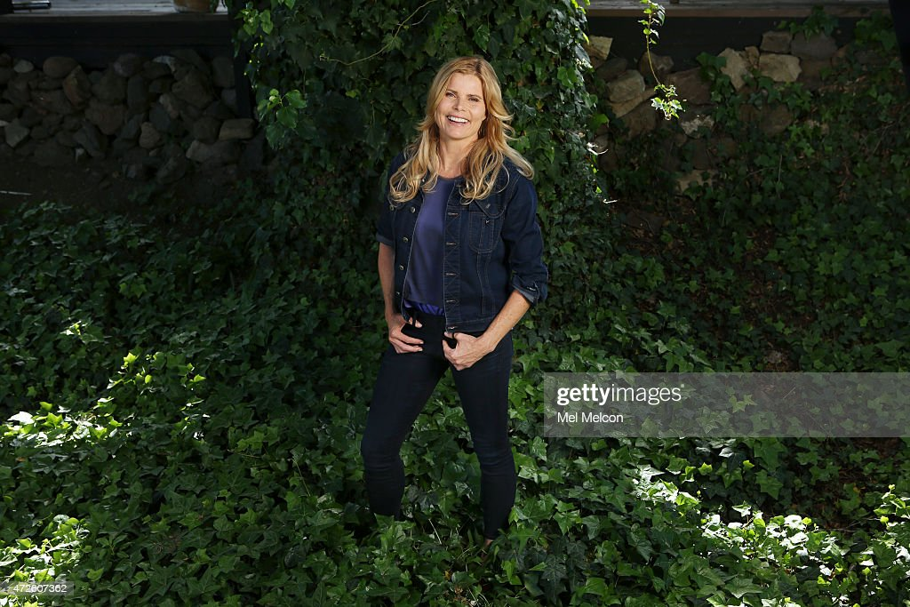 LOS ANGELES, CA - APRIL 02, 2015 - Actress and author Mariel Hemingway is photographed for Los Angeles Times on April 2, 2015 in Calabasas, California. PUBLISHED IMAGE.