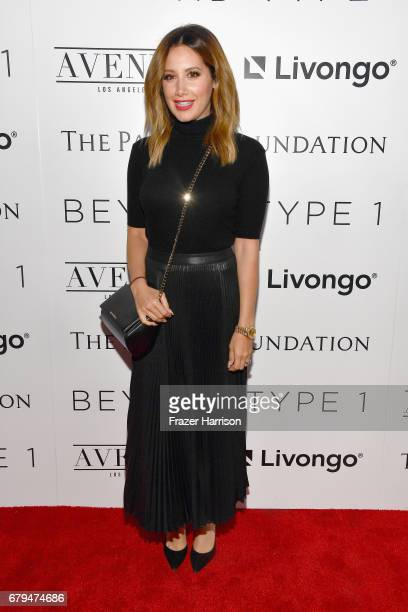 Actress and Beyond LA Host Committee Ashley Tisdale attends the Beyond LA Cocktail Party Benefiting Beyond Type 1 at Avenue LA on May 5 2017 in...