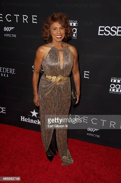 Actress and Bond Girl Gloria Hendry attends 'Spectre'The Black Women Of Bond at California African American Museum on November 3 2015 in Los Angeles...