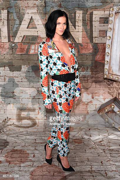 Actress and CHANEL Ambassador Leigh Lezark attends the CHANEL Dinner Celebrating N°5 THE FILM by Baz Luhrmann on October 13 2014 in New York City