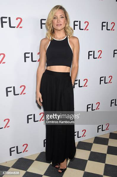 Actress and cofounder of Fabletics Kate Hudson attends the FL2 Launch on June 4 2015 in New York City
