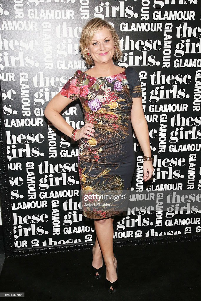 Actress and comedian <a gi-track='captionPersonalityLinkClicked' href=/galleries/search?phrase=Amy+Poehler&family=editorial&specificpeople=228430 ng-click='$event.stopPropagation()'>Amy Poehler</a> attends Glamour's presentation of 'These Girls' at Joe's Pub on May 20, 2013 in New York City.