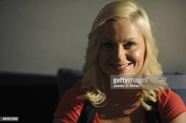 Actress/ and comedian Amy Poehler poses at a portrait session in New York City for the Los Angeles Times