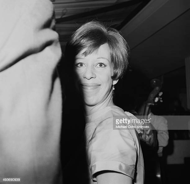 Actress and comedian Carol Burnett attends a party in Los Angeles California