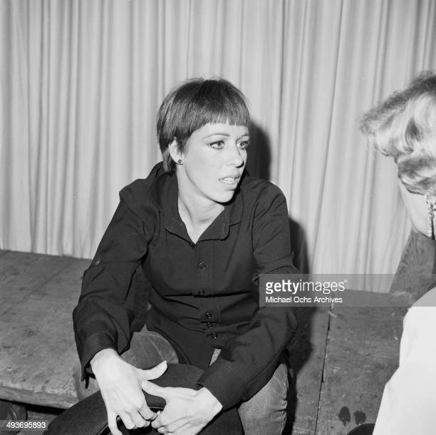 Actress and comedian Carol Burnett poses in Los Angeles California