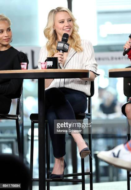 Actress and comedian Kate McKinnon discusses 'Rough Night' at Build Studio on June 9 2017 in New York City