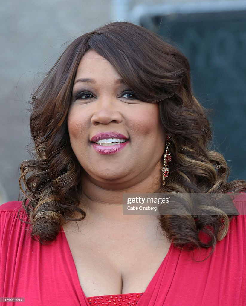 Actress and comedian Kym Whitley arrives at the 11th annual Ford Neighborhood Awards at the MGM Grand Garden Arena on August 10, 2013 in Las Vegas, Nevada.