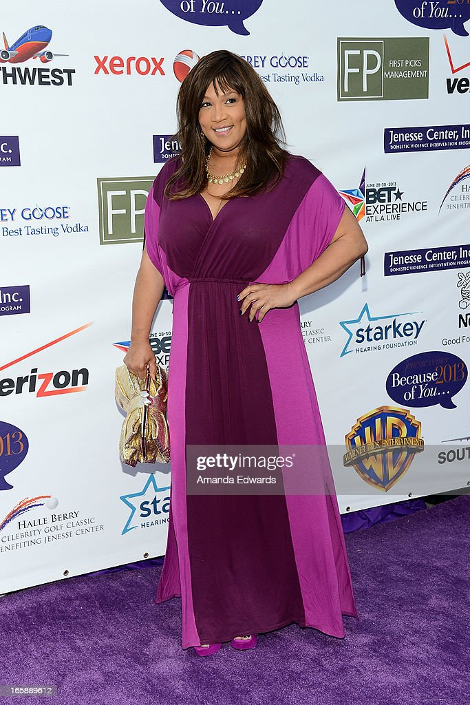 Actress and comedian Kym Whitley arrives at the Jenesse Center's 2013 Silver Rose Gala & Auction at Vibiana on April 6, 2013 in Los Angeles, California.