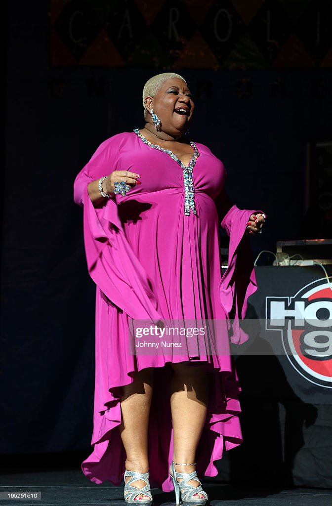 Actress and comedian Luenell performs at Hot 97's April Fool's Comedy Show at The Theater at Madison Square Garden on April 1, 2013, in New York City.