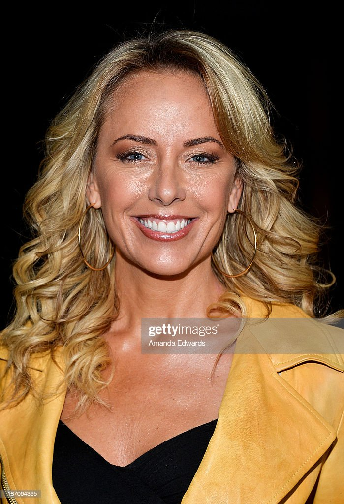 Actress and comedian Rachel Reenstra arrives at the Los Angeles premiere of 'How I Live Now' at ArcLight Hollywood on November 5 2013 in Hollywood...
