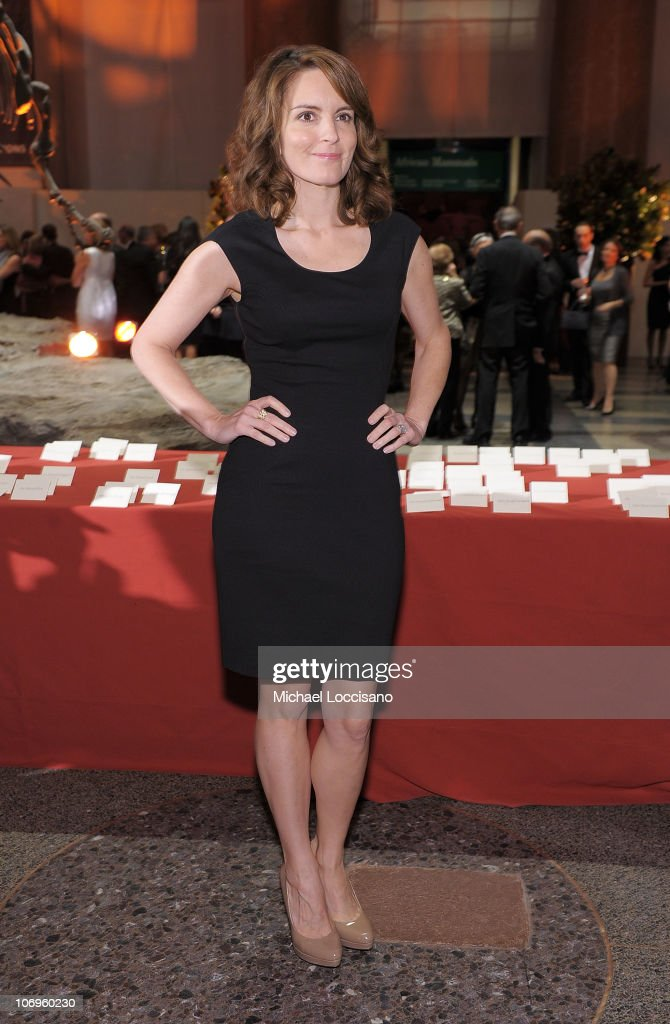 Actress and comedian Tina Fey attends the American Museum of Natural History's 2010 Museum Gala at the American Museum of Natural History on November 18, 2010 in New York City.
