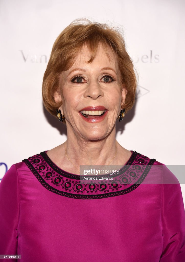 Actress and comedienne Carol Burnett arrives at The Colleagues and Oscar De La Renta's Annual Spring Luncheon at the Beverly Wilshire Four Seasons Hotel on May 3, 2017 in Beverly Hills, California.