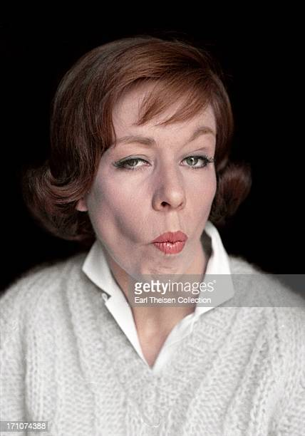 Actress and comedienne Carol Burnett poses for a portrait in June 1963 in Los Angeles California