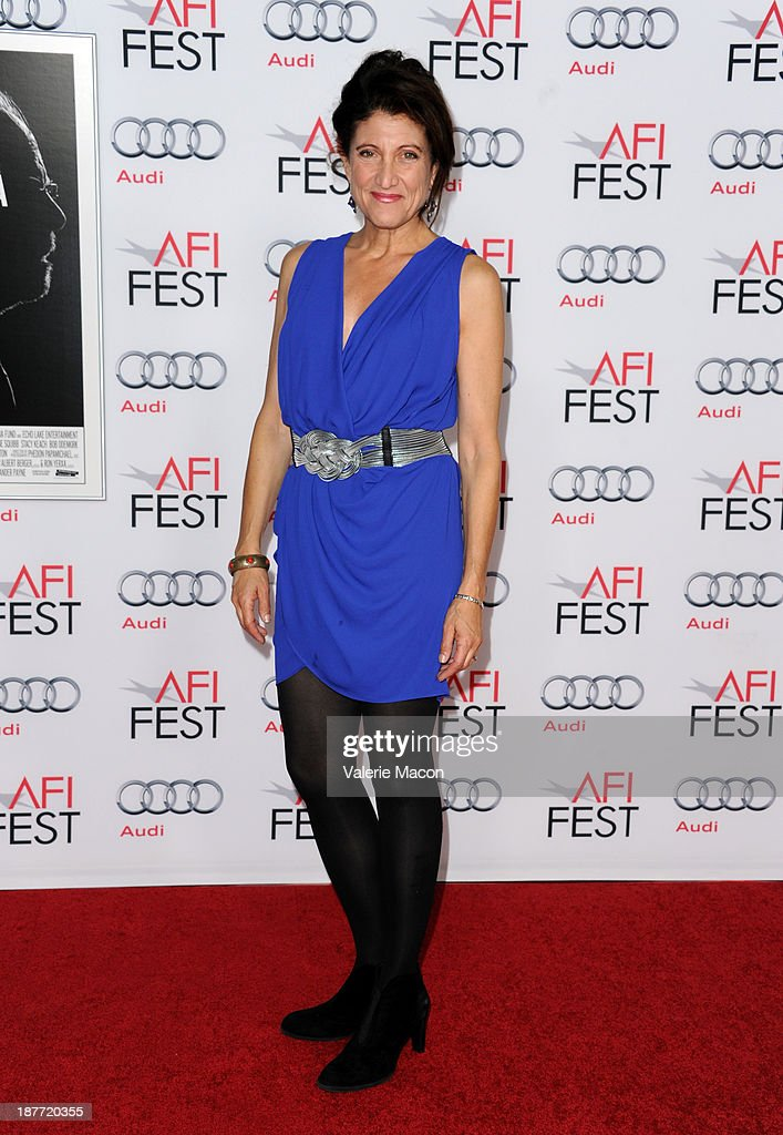 Actress and co-secretary-treasurer of the Screen Actors Guild Amy Aquino attends the screening of 'Nebraska' during AFI FEST 2013 presented by Audi at TCL Chinese Theatre on November 11, 2013 in Hollywood, California.