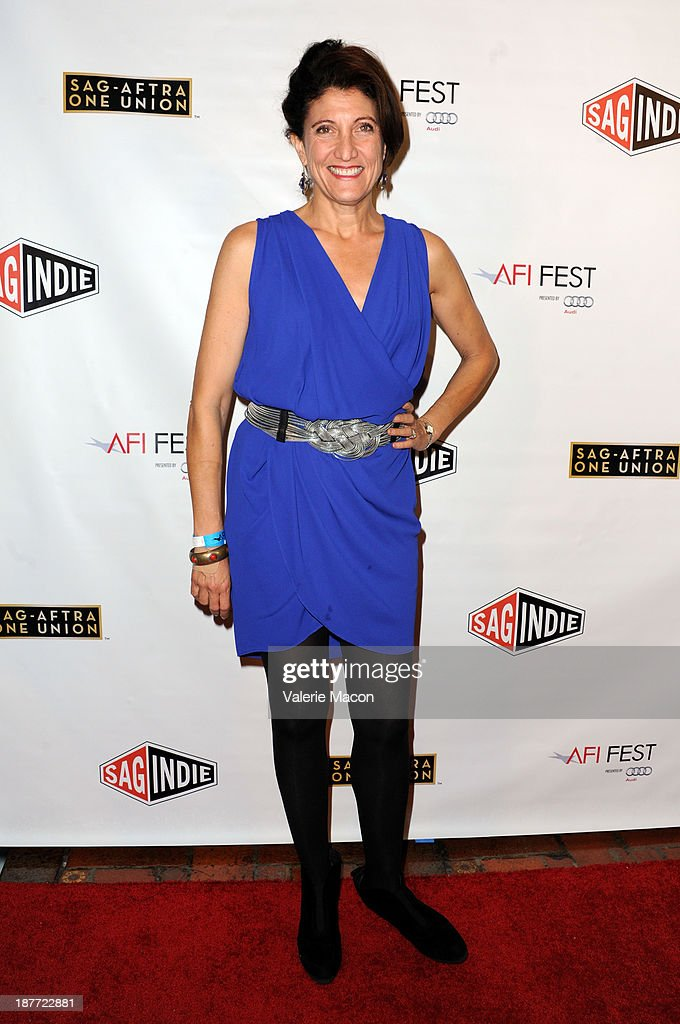 Actress and co-secretary-treasurer of the Screen Actors Guild Amy Aquino attends the Tribute to Bruce Dern with SAG-AFTRA, SAGindie And The National SAGindie Committee during AFI FEST presented by Audi at The Roosevelt Hotel on November 11, 2013 in Hollywood, California.