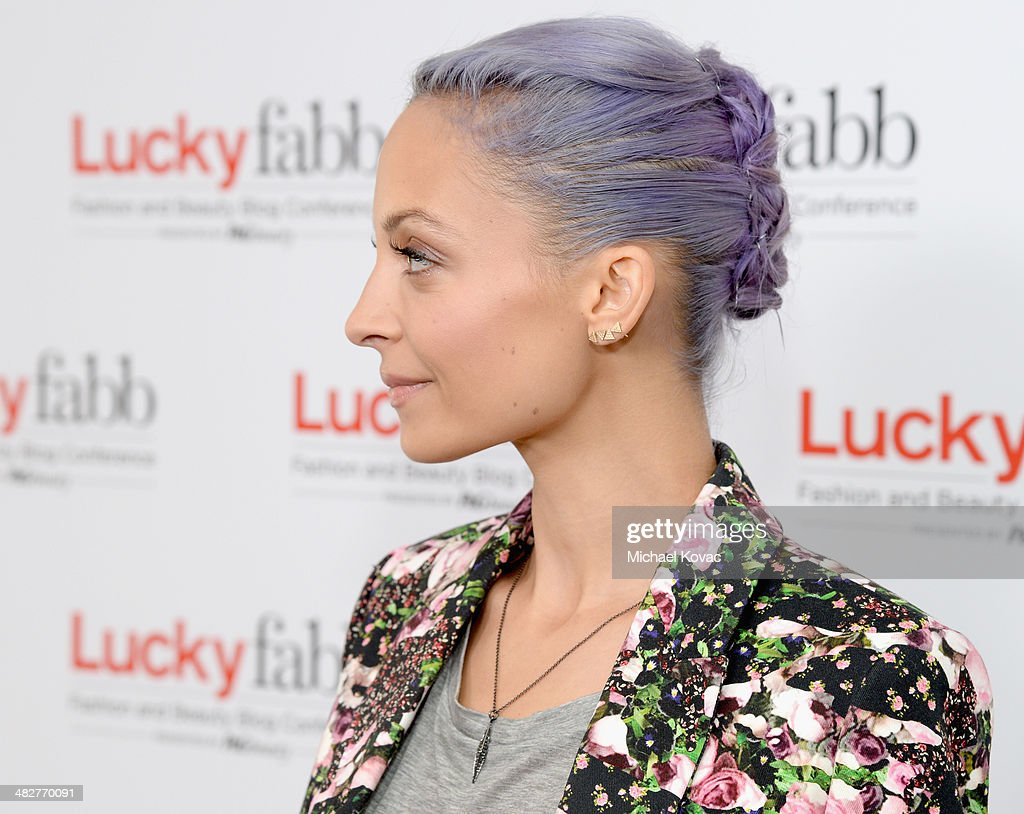 Actress and Creative Director of House of Harlow 1960, Nicole Richie attends Lucky