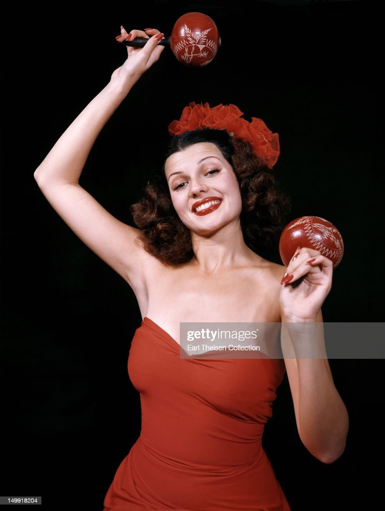 Actress and dancer <a gi-track='captionPersonalityLinkClicked' href=/galleries/search?phrase=Rita+Hayworth&family=editorial&specificpeople=70013 ng-click='$event.stopPropagation()'>Rita Hayworth</a> poses for a portrait circa 1940 in Los Angeles, California.