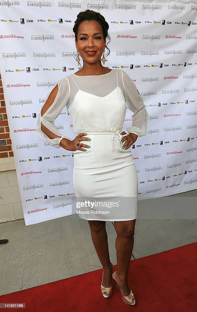 Actress and designer <a gi-track='captionPersonalityLinkClicked' href=/galleries/search?phrase=LisaRaye+McCoy&family=editorial&specificpeople=198881 ng-click='$event.stopPropagation()'>LisaRaye McCoy</a> attends the Not Alone Foundation Second Biennial Diamond Awards at Morehouse College Ray Charles Performing Arts Center on March 17, 2012 in Atlanta, Georgia.