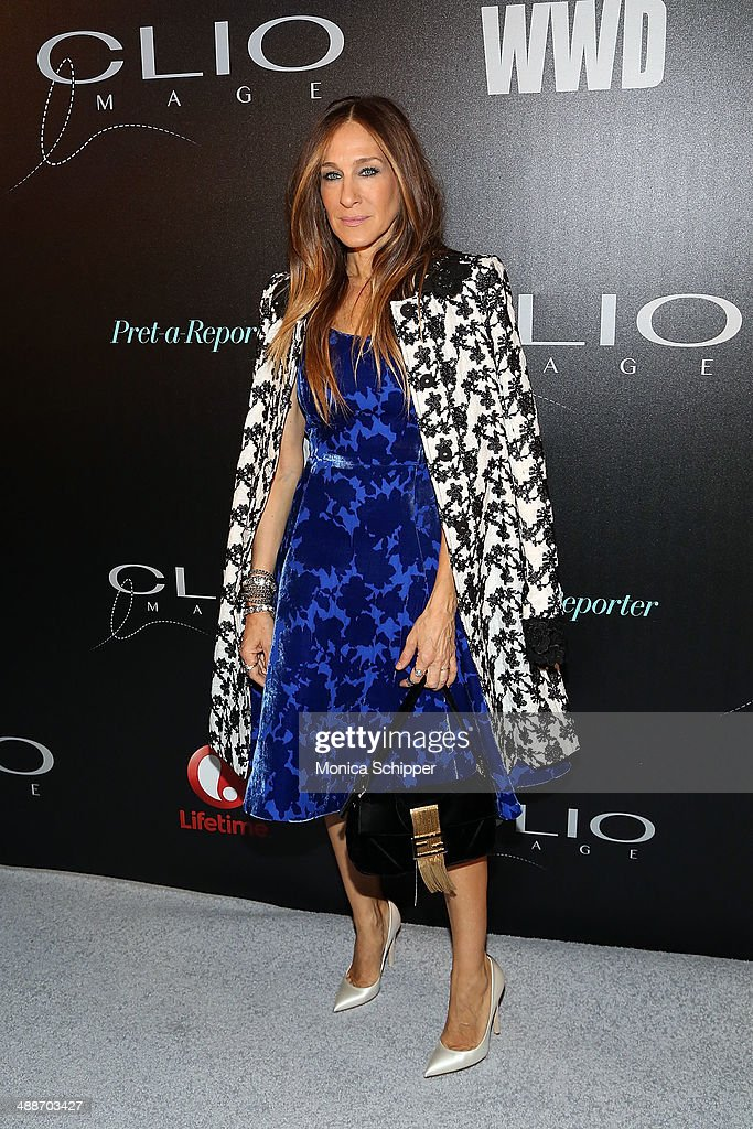 Actress and designer <a gi-track='captionPersonalityLinkClicked' href=/galleries/search?phrase=Sarah+Jessica+Parker&family=editorial&specificpeople=201693 ng-click='$event.stopPropagation()'>Sarah Jessica Parker</a> attends the 2014 CLIO Image Awards at The Pierre Hotel on May 7, 2014 in New York City.