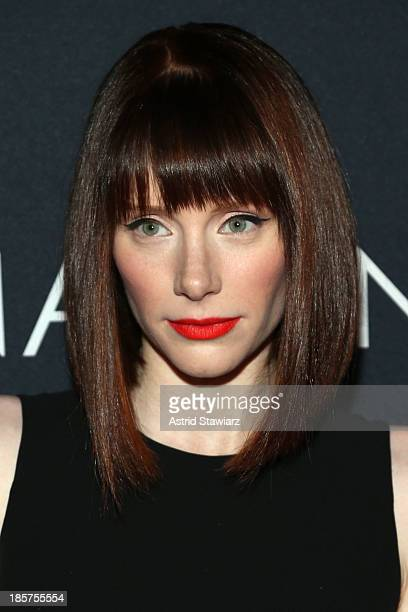 Actress and director Bryce Dallas Howard attends the Premiere Of Canon's Project Imaginat10n Film Festival at Alice Tully Hall on October 24 2013 in...