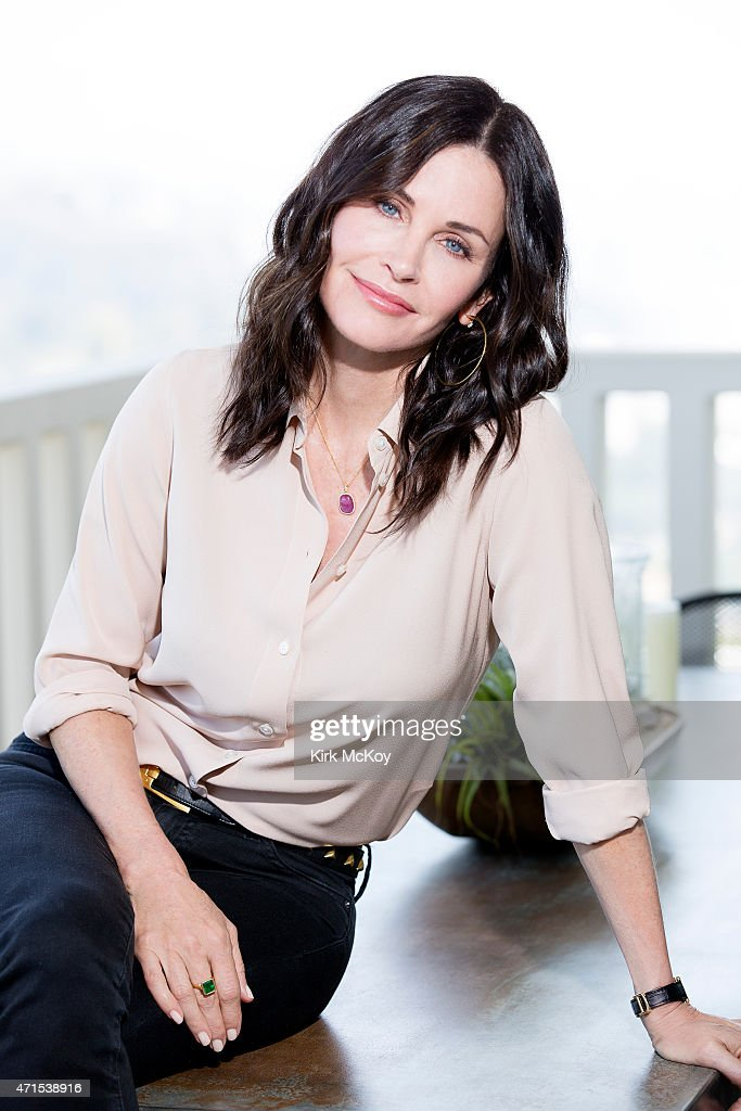 LOS ANGELES, CA - APRIL 13, 2015 - Actress and director <a gi-track='captionPersonalityLinkClicked' href=/galleries/search?phrase=Courteney+Cox&family=editorial&specificpeople=203101 ng-click='$event.stopPropagation()'>Courteney Cox</a> is photographed for Los Angeles Times on April 13, 2015 in Los Angeles, California. PUBLISHED IMAGE.