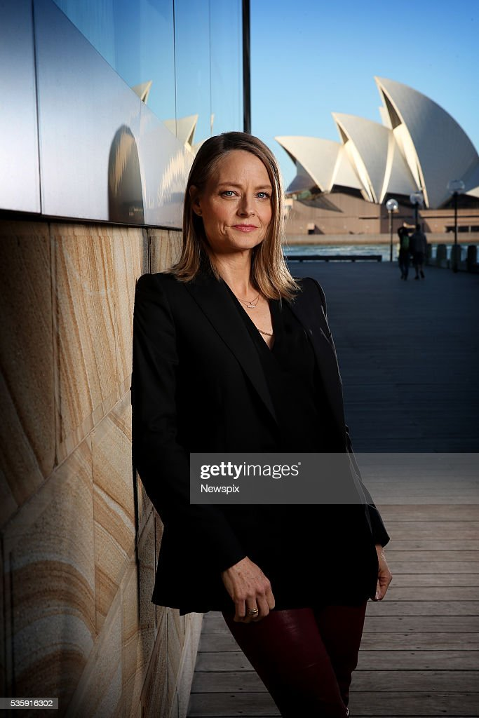 Actress and direstor <a gi-track='captionPersonalityLinkClicked' href=/galleries/search?phrase=Jodie+Foster&family=editorial&specificpeople=204488 ng-click='$event.stopPropagation()'>Jodie Foster</a> poses during a photo shoot in Sydney, New South Wales. She was in town to promote her new film 'Money Monsters'.