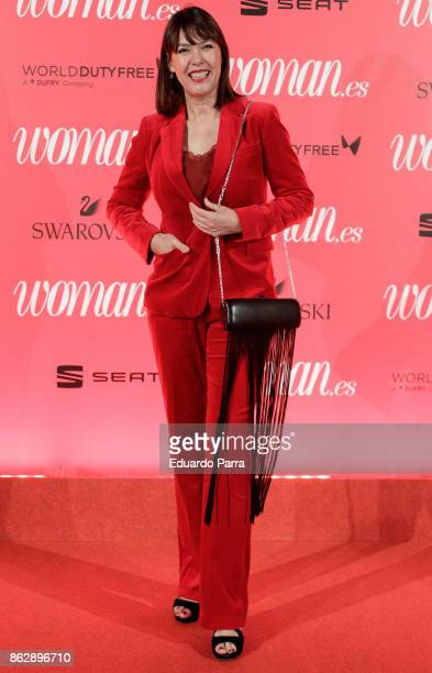 Actress and director Mabel Lozano attends the 'Woman 25th anniversary' photocall at Madrid Casino on October 18 2017 in Madrid Spain