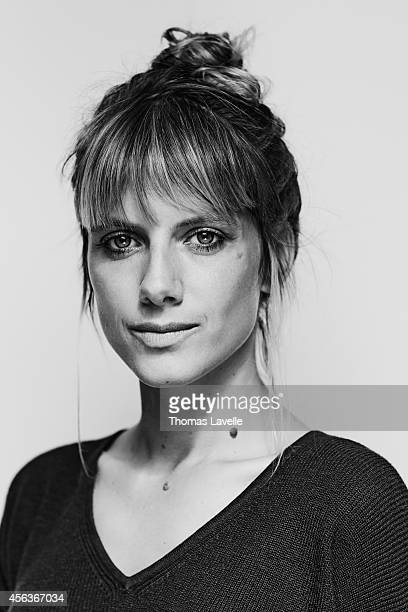 Actress and director Melanie Laurent is photographed for Le Film Francais on September 22 2014 in Paris France