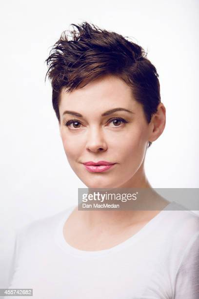Actress and director Rose McGowan is photographed for Self Assignment on September 19 2014 in Los Angeles California