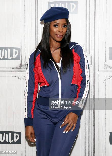 Actress and director Tasha Smith discusses her directorial debut with TV One's 'When Love Kills' at Build Studio on August 17 2017 in New York City