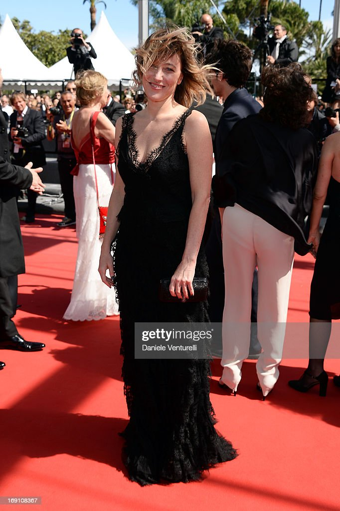 Actress and director Valeria Bruni Tedeschi attends the Premiere of 'Un Chateau En Italie' during the 66th Annual Cannes Film Festival at the Palais des Festivals on May 20, 2013 in Cannes, France.