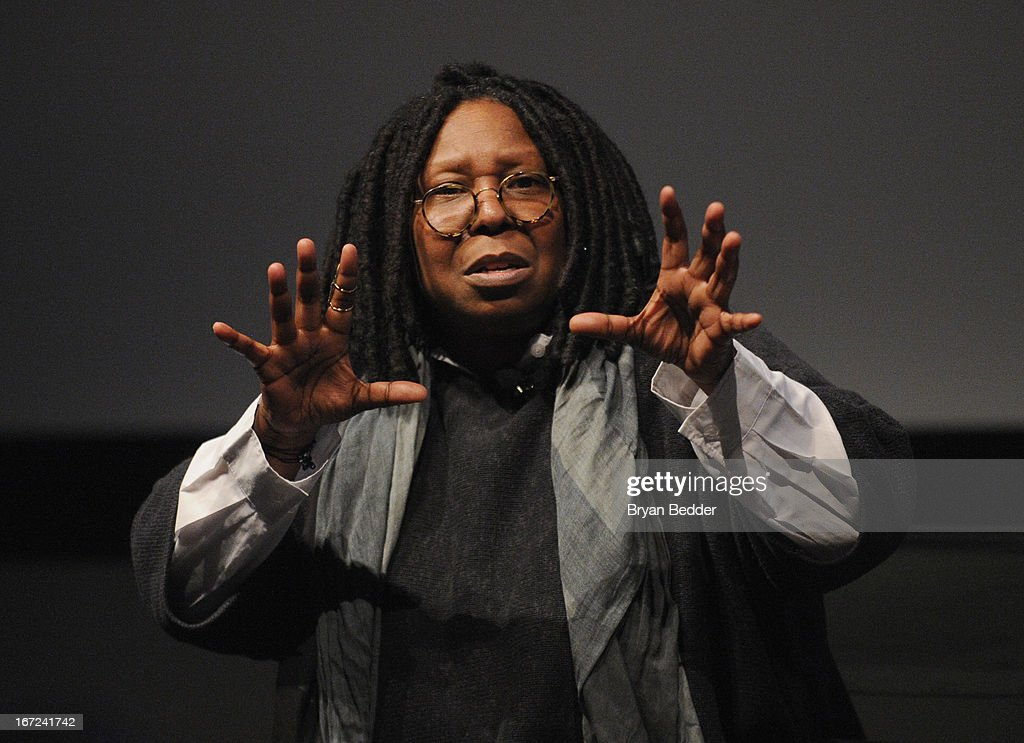 Actress and director Whoopi Goldberg speaks during 'I Got Somethin' To Tell You' screening and QA with Director Whoopi Goldberg exclusively for...