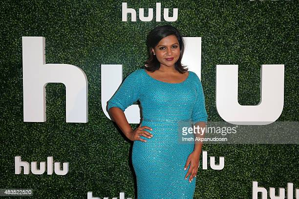 Actress and Executive Producer Mindy Kaling attends the Hulu 2015 Summer TCA Presentation at The Beverly Hilton Hotel on August 9 2015 in Beverly...