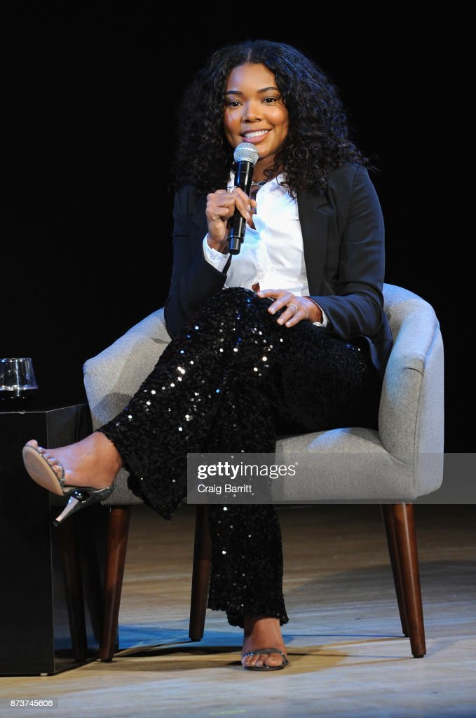 Actress and fashion designer at New York & CompanyGabrielle Union speaks onstage during Glamour Celebrates 2017 Women Of The Year Live Summit at Brooklyn Museum on November 13, 2017 in New York City.
