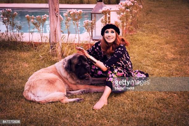 Actress and fashion model Marisa Berenson is photographed at her home for Luxx magazine on June 28 2017 in Marrakech Morocco