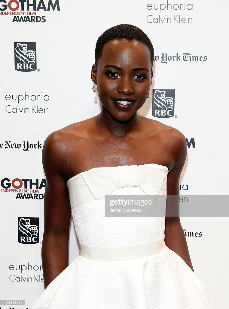 Actress and Filmmaker Lupita Nyong'o attends IFP's 23nd Annual Gotham Independent Film Awards at Cipriani Wall Street on December 2, 2013 in New York City.