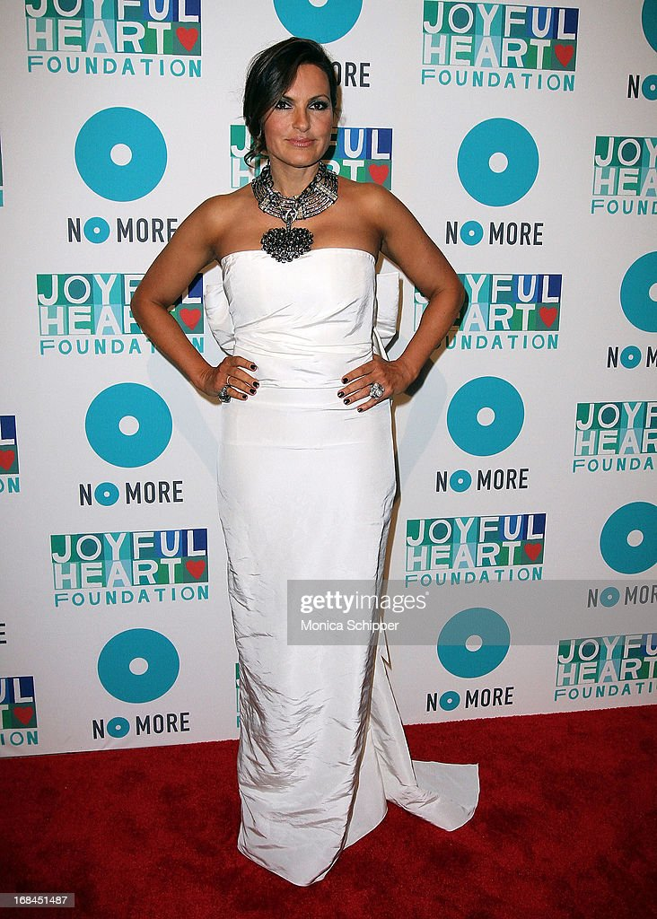 Actress and founder of the Joyful Heart Foundation Mariska Hargitay attends the 2013 Joyful Heart Foundation gala at Cipriani 42nd Street on May 9, 2013 in New York City.
