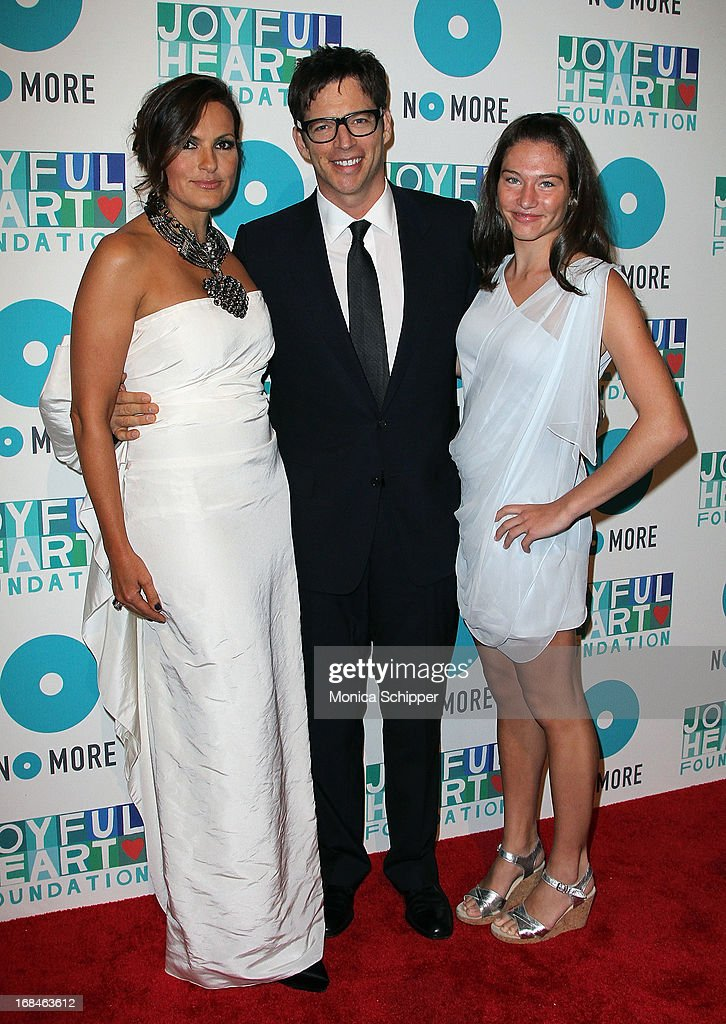 Actress and founder of the Joyful Heart Foundation <a gi-track='captionPersonalityLinkClicked' href=/galleries/search?phrase=Mariska+Hargitay&family=editorial&specificpeople=204727 ng-click='$event.stopPropagation()'>Mariska Hargitay</a>, musician <a gi-track='captionPersonalityLinkClicked' href=/galleries/search?phrase=Harry+Connick+Jr&family=editorial&specificpeople=211285 ng-click='$event.stopPropagation()'>Harry Connick Jr</a> and daughter attend the 2013 Joyful Heart Foundation gala at Cipriani 42nd Street on May 9, 2013 in New York City.