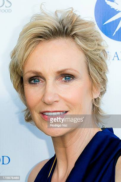 Actress and honoree Jane Lynch arrives at Project Angel Food's Annual Angel Awards 2013 honoring Jane Lynch at Project Angel Food on August 10 2013...