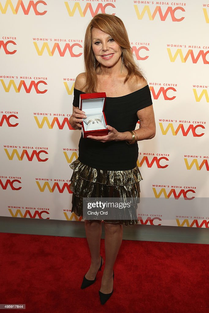 Actress and honoree Marlo Thomas attends The Women's Media Center 2015 Women's Media Awards on November 5, 2015 in New York City.