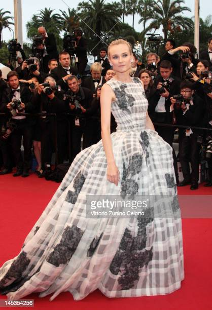 Actress and Jury Member Diane Kruger attend the Closing Ceremony and the 'Therese Desqueyroux' Premiere during the 65th Annual Cannes Film Festival...