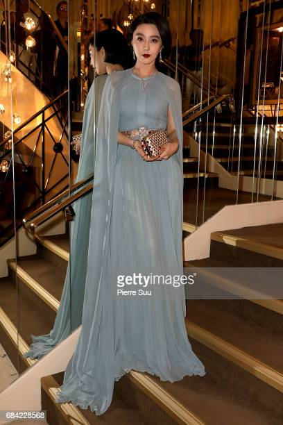 Actress and Jury Member Fan Bingbing is spotted at the 'Majestic' hotel during the 70th annual Cannes Film Festival at on May 17 2017 in Cannes France
