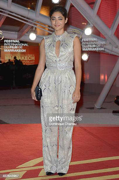 Actress and Jury member Golshifteh Farahani attends the 'A Thousand Times Good Night' premiere during the 13th Marrakech International Film Festival...