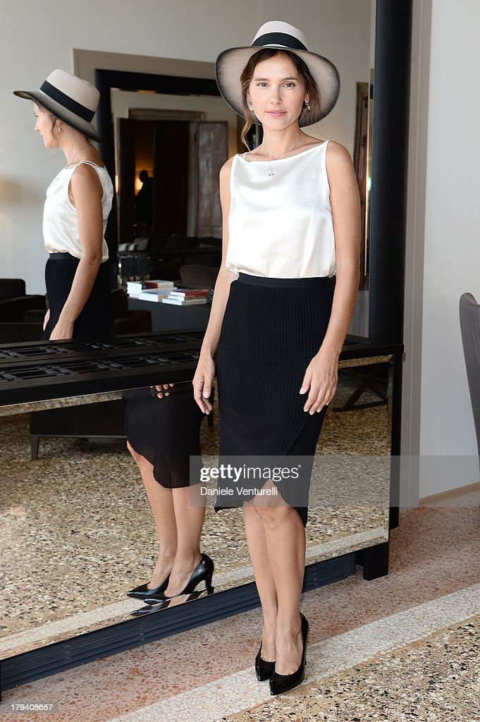 Actress and jury member <a gi-track='captionPersonalityLinkClicked' href=/galleries/search?phrase=Virginie+Ledoyen&family=editorial&specificpeople=206954 ng-click='$event.stopPropagation()'>Virginie Ledoyen</a> attends Chopard during the 70th Venice International Film Festival at Palazzo Papadopoli on September 3, 2013 in Venice, Italy.