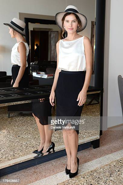 Actress and jury member Virginie Ledoyen attends Chopard during the 70th Venice International Film Festival at Palazzo Papadopoli on September 3 2013...