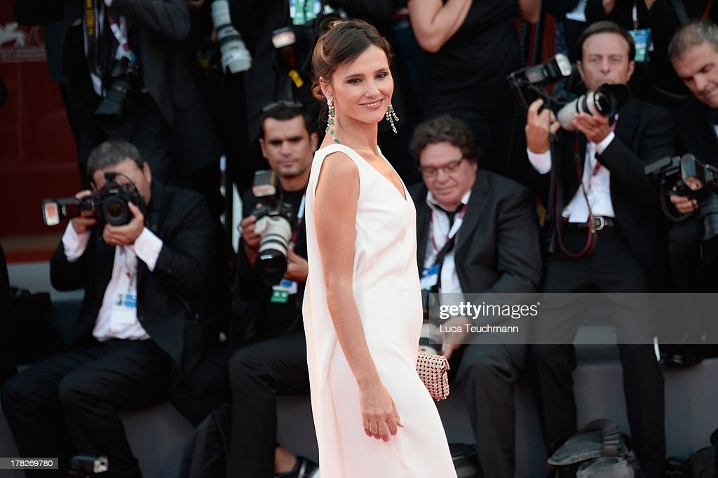Actress and jury member Virginie Ledoyen attends 'Gravity' premiere and Opening Ceremony during The 70th Venice International Film Festival at Sala Grande on August 28, 2013 in Venice, Italy.