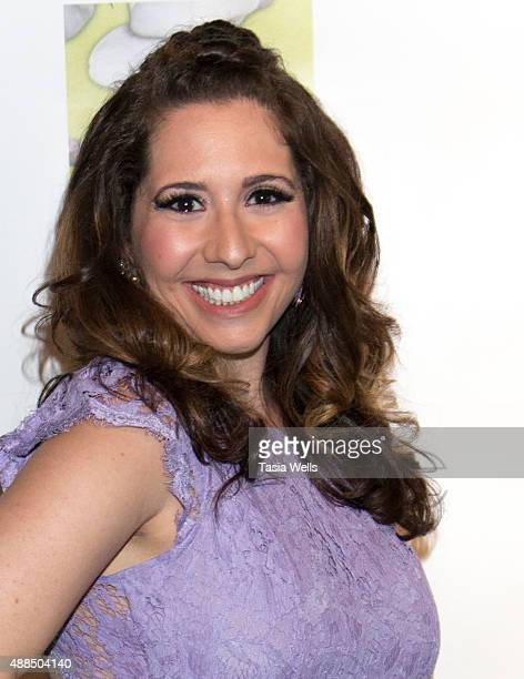 Actress and Liv Out Loud creator Ashley Gianni arrives at Premiere Party For 'Liv Out Loud' at Akbar on September 14 2015 in Los Angeles California