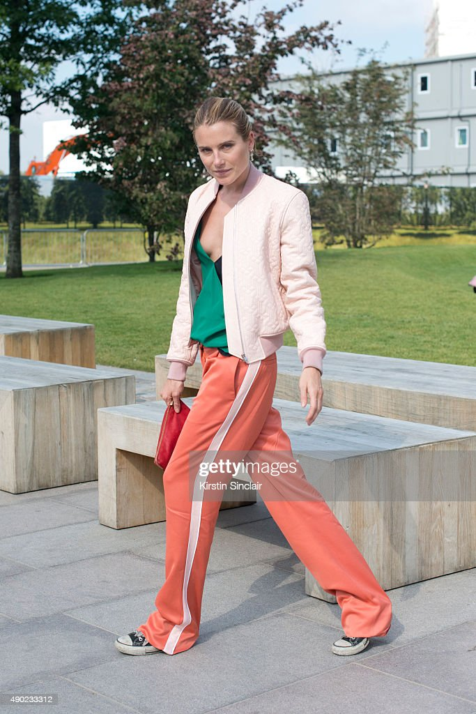 Actress and Model Dree Hemingway on day 3 during London Fashion Week Spring/Summer 2016/17 on September 20 2015 in London England