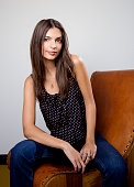 Actress and model Emily Ratajkowski is photographed for Los Angeles Times on August 4 2015 in Los Angeles California PUBLISHED IMAGE CREDIT NEEDS TO...